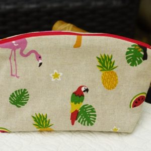 pochette de sac motif tropical