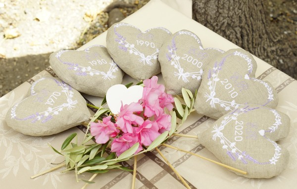 Cadeau d'anniversaire de mariage en Provence