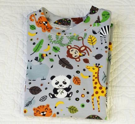Tee-shirt manches longues jungle