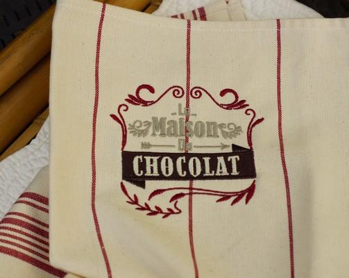 Torchon haut de gamme, Maison chocolat